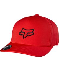 Kšiltovka Fox Lampson flexfit Hat flame Red S/M