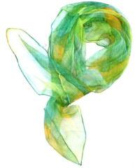 Elegantní vzdušný šátek