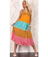 Bavlněné dlouhé šaty