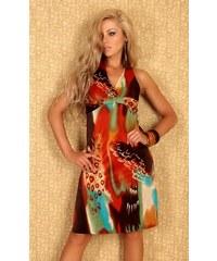 Barevné dámské šaty