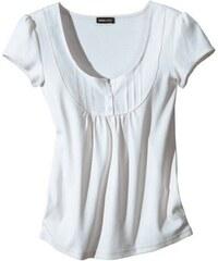 Půvabný bílý top/halenka s rukávem