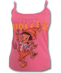 Růžový top Pinocchio