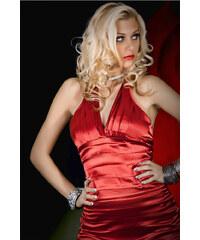 Červené večerní šaty