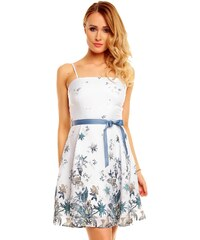 Elegantní šaty korzetový střih