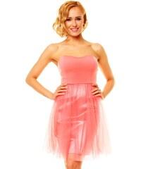 Růžové princeznovské šaty