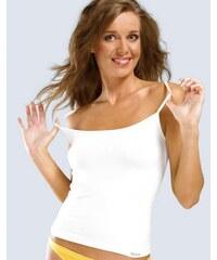 GINA Dámská košilka, úzká ramínka, bezešvé, jednobarevné MicroBavlna 08004P