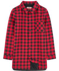 Little Eleven Paris Kariertes Hemd mit Fleece-Innenfutter