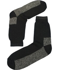 Sport Teplé vlněné ponožky Thermo 39-42 černá