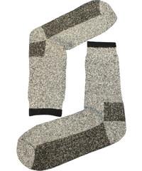 Sport Teplé vlněné ponožky Thermo 39-42 světle šedá