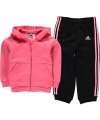 Triko Adidas 3pc Babyjog Bb14 Pink/Wht/Blk