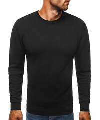 Elegantní černý pánský svetr BRUNO LEONI M001