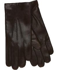 JUNEK Kožené rukavice s vlněnou podšívkou