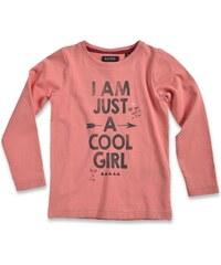 Blue Seven Dívčí tričko Cool girl - červené