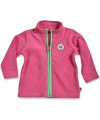 Blue Seven Dívčí fleecová mikina - růžová