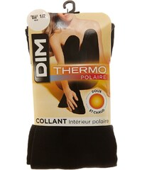 Dim Collant Collant Thermo Polaire - noir