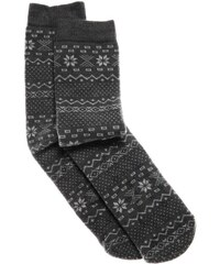 0 1 2 Socken - grau