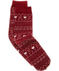 Benetton Chaussettes imprimées - rouge