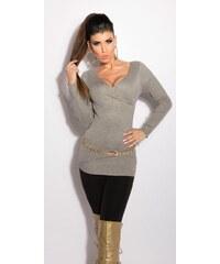 Koucla Elegantní dámský pulovr
