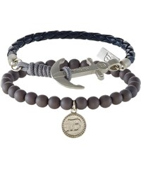 Icon Brand SILICA 2 PACK Bracelet navy