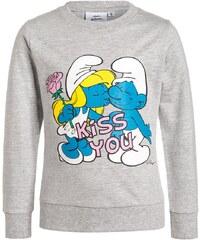Die Schlümpfe Sweatshirt grau meliert