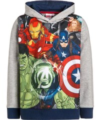 Marvel HEROES Sweatshirt grau/navy
