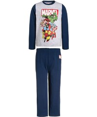 Marvel HEROES Pyjama navy/grau