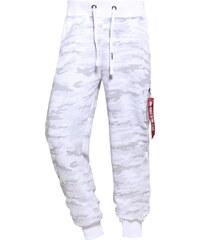 Alpha Industries X FIT Pantalon de survêtement white