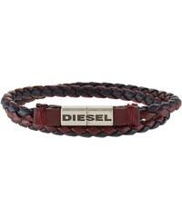 Diesel ALUCY BRACELET Bracelet burgundy/blue nights