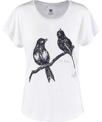 Ezekiel LOVE BIRDS Tshirt imprimé white