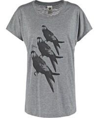 Ezekiel POLL DOLMAN Tshirt imprimé premium heather
