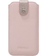 Iphoria LITCHI Étui à portable gold/rosa