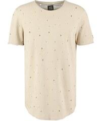Black Kaviar KITARO Tshirt imprimé beige