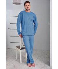 Regina Pánské pyžamo Martin modré