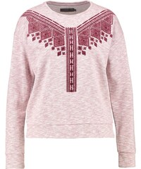 Even&Odd Sweatshirt bordeaux/melange