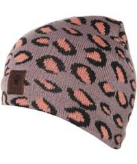Molo Bonnet mauve leopard