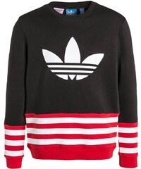 adidas Originals Sweatshirt black/scarlet/white