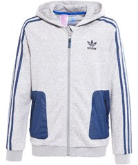 adidas Originals Sweat zippé medium grey heather/white/legink