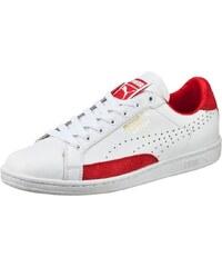 Puma MATCH 74 Baskets basses white/high risk red/gold