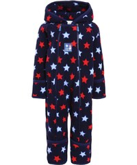 JoJo Maman Bébé Combinaison dark blue/light blue/red