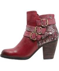 LAURA VITA ANGELINA Boots à talons rouge