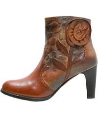 LAURA VITA ALBANE Boots à talons brun