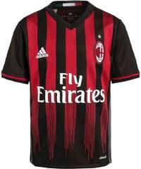 adidas Performance AC MAILAND HOME Tshirt de sport black/victory red/granite