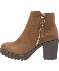 H.I.S. Boots à talons taupe