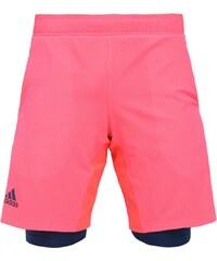 adidas Performance Short de sport flash red/tech steeel