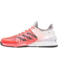 adidas Performance ADIZERO UBERSONIC 2 Chaussures de tennis sur terre battue flash red/tec steel/white