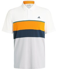 adidas Golf Polo white/unity orange/tech forest