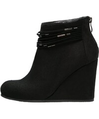 Anna Field Bottines compensées black