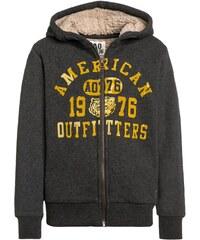 American Outfitters Sweat zippé heather grey
