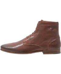 Kost GUILLEMET Bottines à lacets cognac