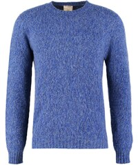 120% Cashmere Pullover blue royal